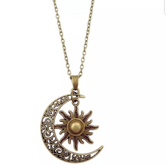 5b4aabdad6 Sun Moon Pendant Necklace Crescent Moon Cha. Boutique.  M_5bf6c2c5619745dc1258d025. M_5bf6c2ca619745121958d028.  M_5bf6c2d1bb7615e0b96d45c5